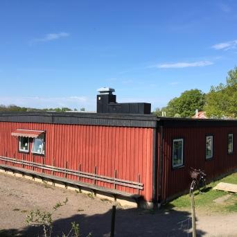 Komplett byggnad inkl ventilation